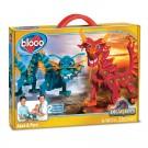 Конструктор «Bloco» Драконы: «Драконы Воды и Огня»