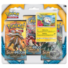 TCG Pokemon: Блистер Sun and Moon