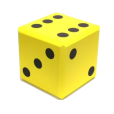 Кубик мягкий D6 (16мм)
