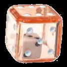 """Кубик D6 """"Кубик в кубике"""" 19мм"""