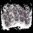 """Набор кубиков """"Военные Германия"""" (D6, Черно-белые, 10 шт)"""