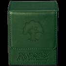 Коробка для карт: Ultra-Pro кожаная (лес)