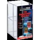 Коробка для карт: Ultra-Pro (2 отделения, прозрачная)