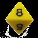 Кубик D8 (16мм)