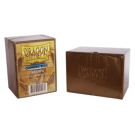 Коробка для карт: Dragon Shield (золотая)