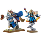 Warhammer: High Elf Archmage And Mage
