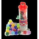 Набор кубиков: Мини D6 прозрачные (30шт, 5 мм)