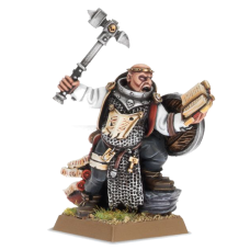 Warhammer: Warrior Priest with Hand Weapon and Shield