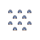 Warhammer 40000: Ultramarines Shoulder Pads