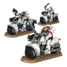Warhammer 40000: White Scars Bike Squad Upgrade Pack