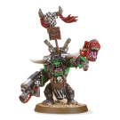 Warhammer 40000: Ork Warboss with Attack Squig