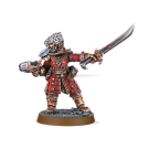 Warhammer 40000: Vostroyan Commander with Power Sword