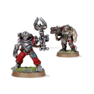Warhammer 40000: Servitors with Multi-melta