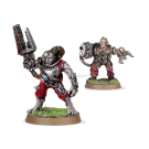 Warhammer 40000: Servitors with Plasma Cannon