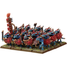 Warhammer: Лизардмены. Воины Саура (Lizardmen, Saurus Warriors)