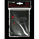 Протекторы: Ultra-Pro Большие (90х125мм, 40шт.): Черные